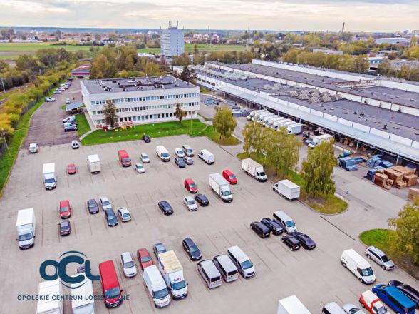 miejsce parkingowe – samochód osobowy